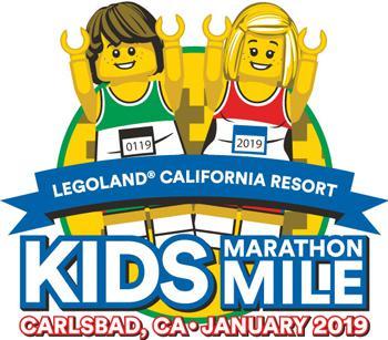 Carlsbad Kids Marathon Mile at Legoland 2019