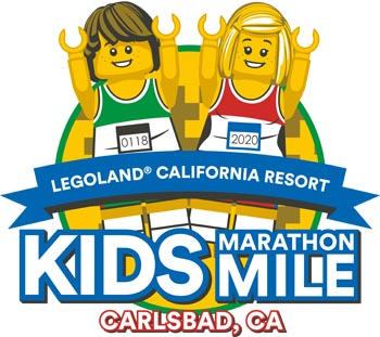 Carlsbad Kids Marathon Mile at Legoland 2020
