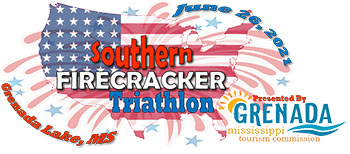 Southern Firecracker Triathlon 2021 presented by GRENADA mississippi tourism commission